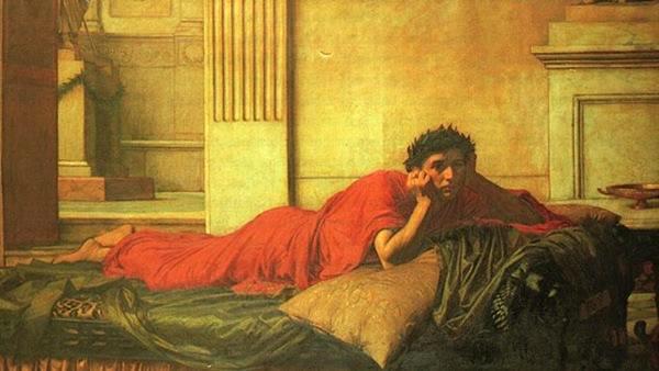 Раскаяние императора Нерона после убийства своей матери. Фото © Википедия