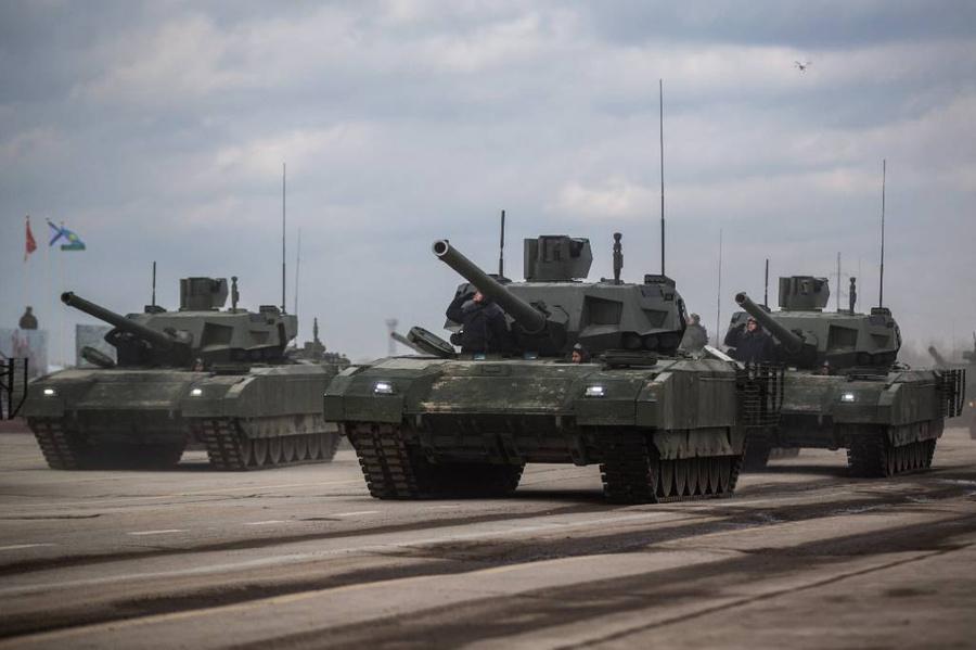 Фото © ТАСС / Сергей Бобылев / Пресс-служба Минобороны РФ