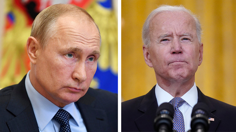<p>Фото © ТАСС / Алексей Никольский / Пресс-служба президента РФ, AP Photo / Evan Vucci</p>