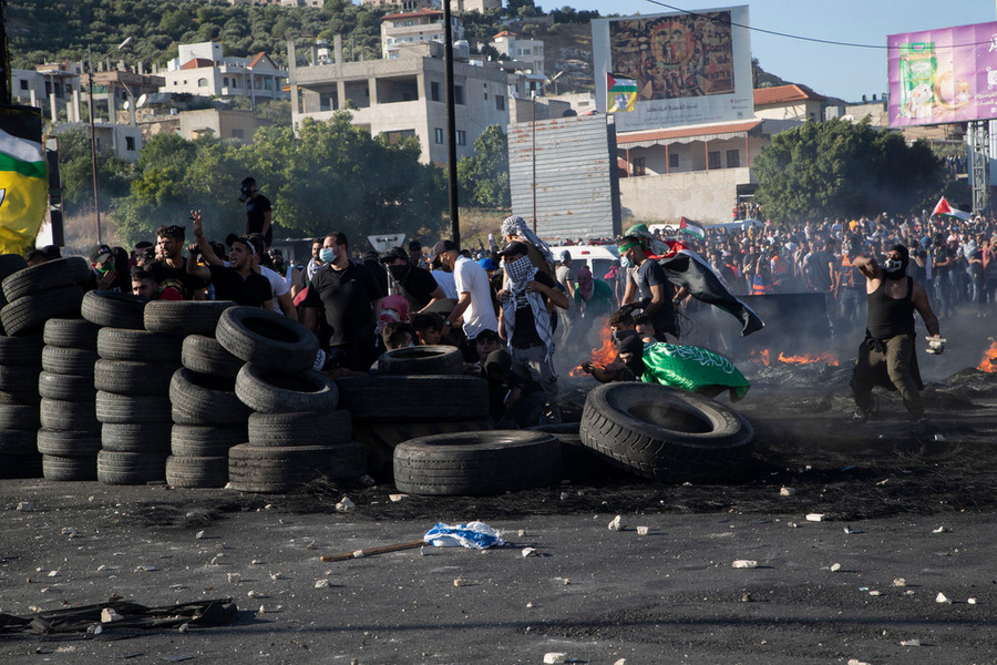<p>Фото © ТАСС / AP Photo / Majdi Mohammed</p>
