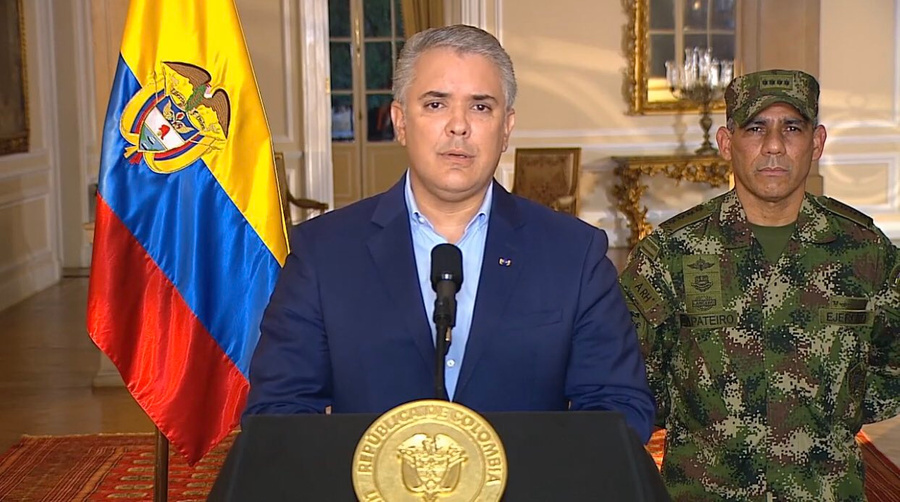"""<p>Фото © Twitter / <a href=""""https://twitter.com/infopresidencia/status/1388659215443578881/photo/1"""" target=""""_blank"""" rel=""""noopener noreferrer"""">Presidencia Colombia</a></p>"""