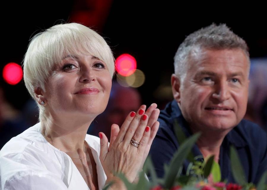 <p>Анжелика Варум и Леонид Агутин. Фото © ТАСС / Вячеслав Прокофьев</p>