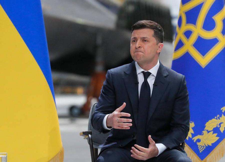 <p>Президент Украины Владимир Зеленский. Фото © ТАСС/ЕРА</p>