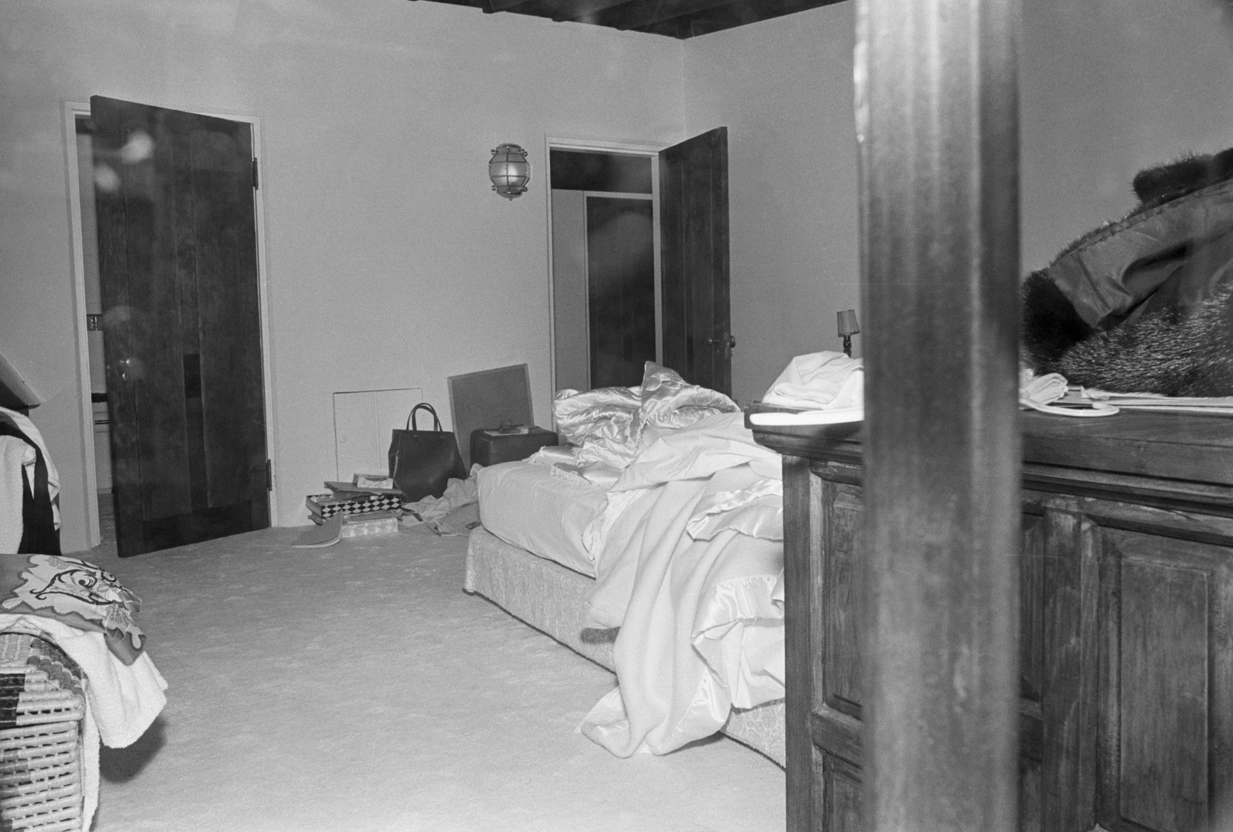 Спальня, в которой Мэрилин Монро была найдена мёртвой. Фото © Getty Images