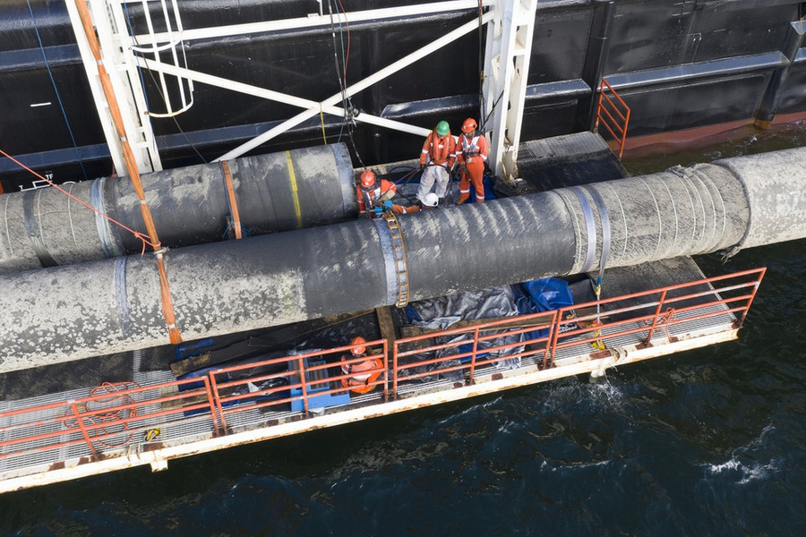 <p>Фото © Nord Stream 2 / Aксель Шмидт</p>