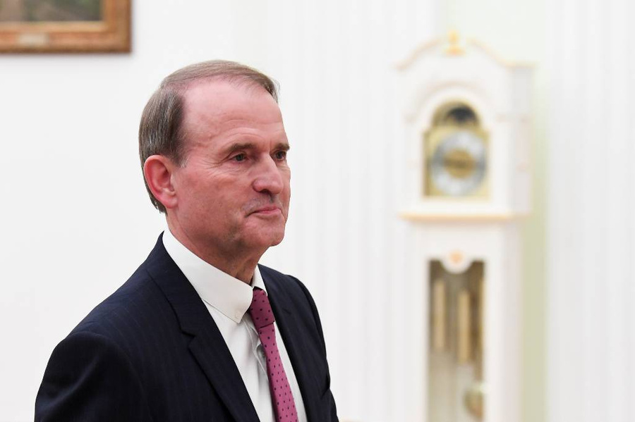 <p>Виктор Медведчук. Фото © ТАСС / Алексей Никольский / Пресс-служба Президента РФ</p>