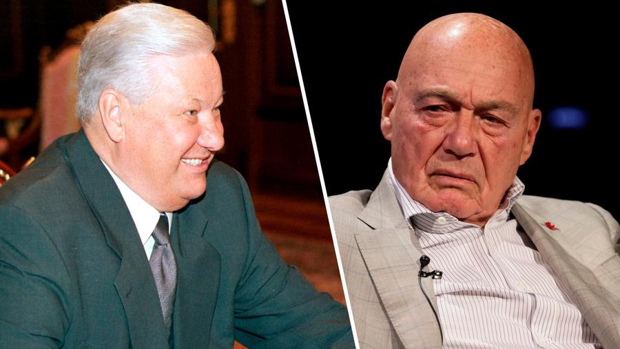 <p>Борис Ельцин и Владимир Познер. Коллаж © LIFE. Фото © ТАСС / А.Чумичев, А.Сенцов, Сорокин Донат</p>