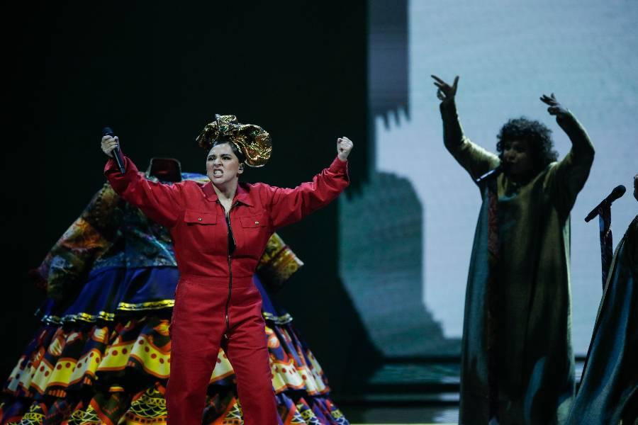 <p>Выступление Манижи. Фото © ТАСС / AP</p>