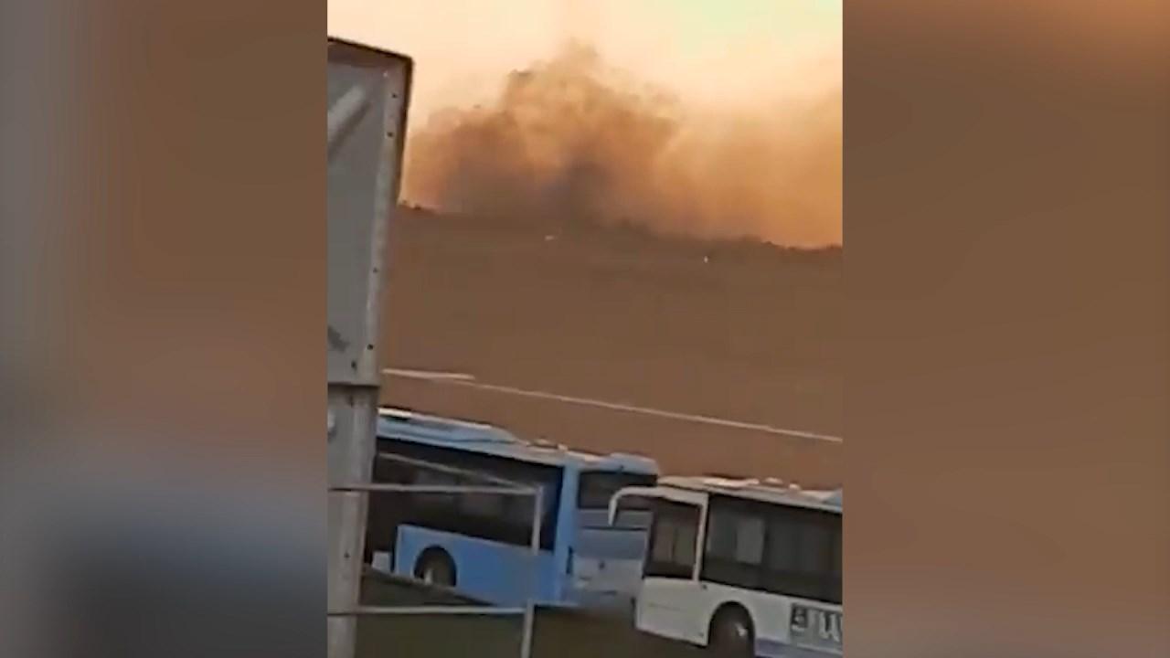 В Нигерии разбился военный самолёт с генералом на борту