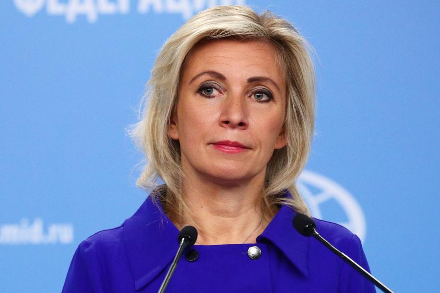 <p>Мария Захарова. Фото © ТАСС / Пресс-служба МИД РФ</p>