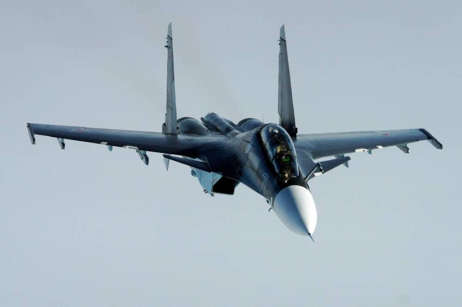 <p>Истребитель Су-30СМ. Фото © ТАСС / Виталий Невар</p>