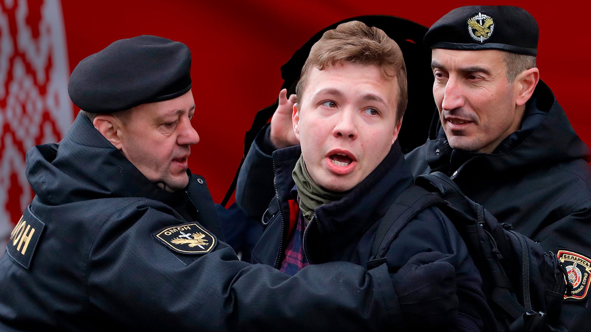 """<p>Коллаж © LIFE. Фото © Shutterstock, © <a href=""""https://liter.kz/v-belorussii-zaderzhali-osnovatelya-telegram-kanala-nexta-emu-grozit-smertnaya-kazn/"""" target=""""_blank"""" rel=""""noopener noreferrer"""">Газета Литер</a></p>"""