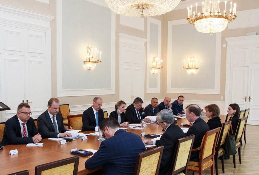<p>Фото © ТАСС / Пресс-служба аппарата Совета безопасности России</p>