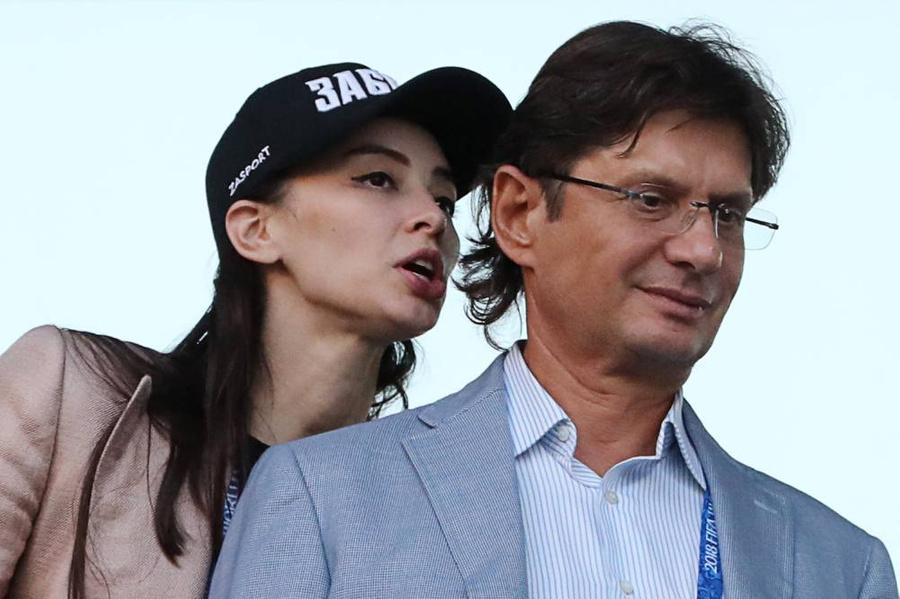 <p>Зарема Салихова и Леонид Федун. Фото © ТАСС / Александр Демьянчук</p>
