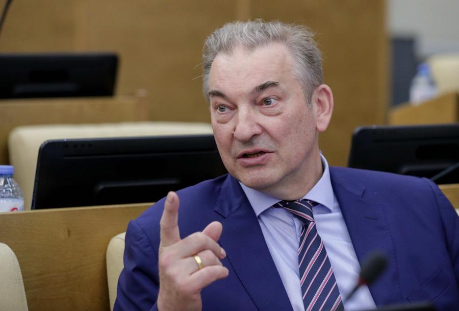 <p>Владислав Третьяк. Фото © ТАСС / Пресс-служба Госдумы РФ</p>