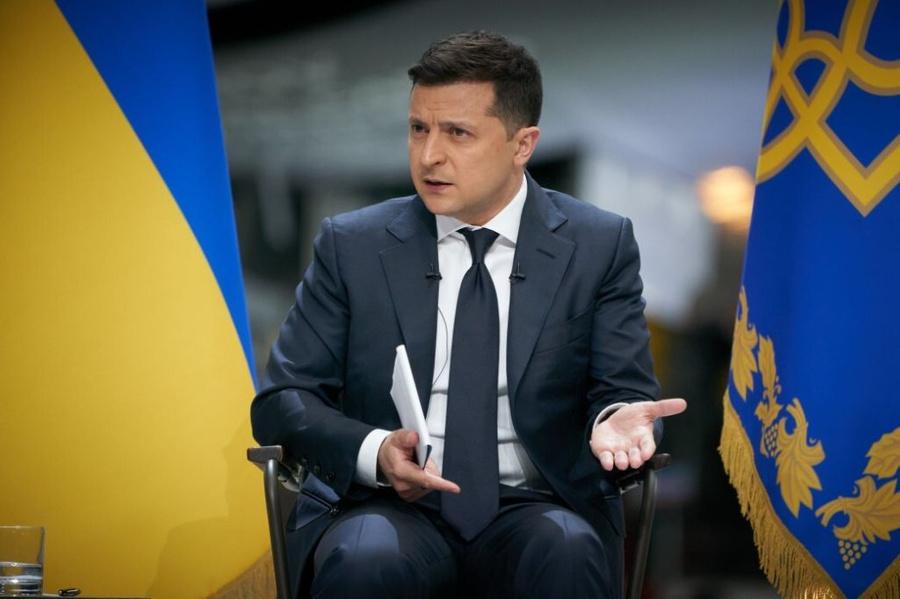 <p>Фото © Ukrainian Presidency / Handout / Anadolu Agency via Getty Images</p>