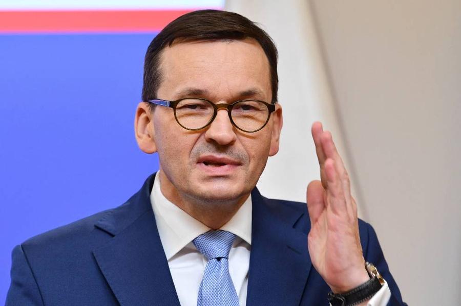 <p>Премьер-министр Польши Матеуш Моравецкий. Фото © ТАСС / ЕРА</p>