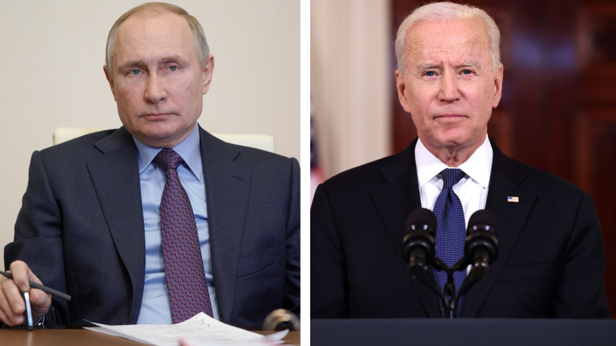 Фото © Getty Images / Anna Moneymaker, © ТАСС / Алексей Дружинин / Пресс-служба Президента РФ