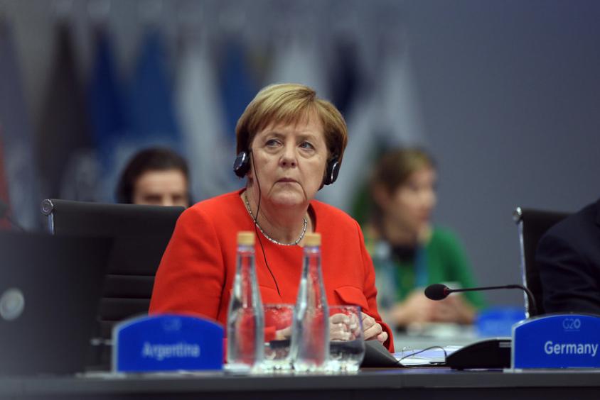 <p>Канцлер ФРГ Ангела Меркель. Фото © G20 Argentina</p>