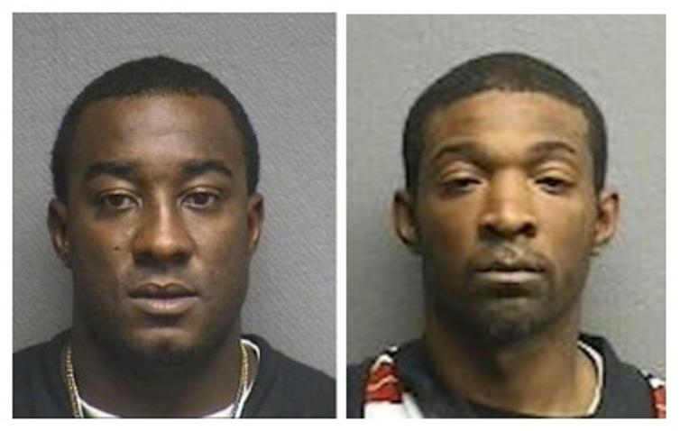 Лиделл Грант (слева) и Джермарико Картер. Фото © KHOU / Houston Police Department