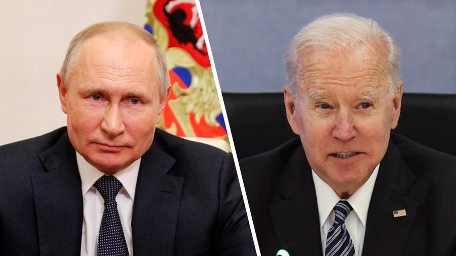 <p>Владимир Путин и Джо Байден. Коллаж © LIFE. Фото © ТАСС / Ильин Сергей, EPA</p>