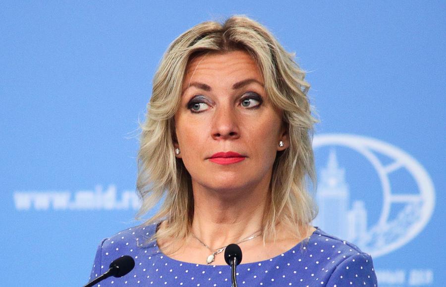 <p>Официальный представитель МИД России Мария Захарова. Фото © ТАСС / Пресс-служба МИД РФ</p>
