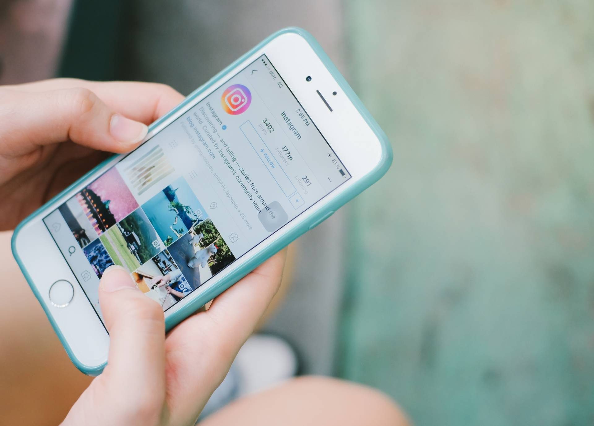 Instagram устроил распродажи