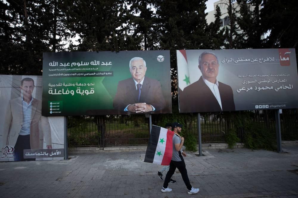 Страны Запада отказались считать свободными предстоящие президентские выборы в Сирии
