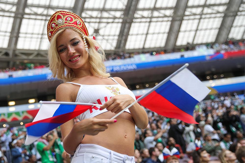 Наталья Немчинова на чемпионате Европы по футболу – 2018. Фото © ТАСС / Бобылев Сергей