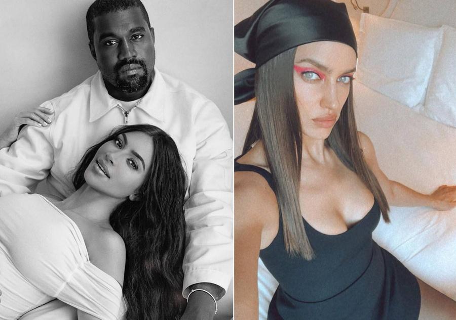 Фото © Instagram/irinashayk, Facebook / Kim Kardashian and Kanye West