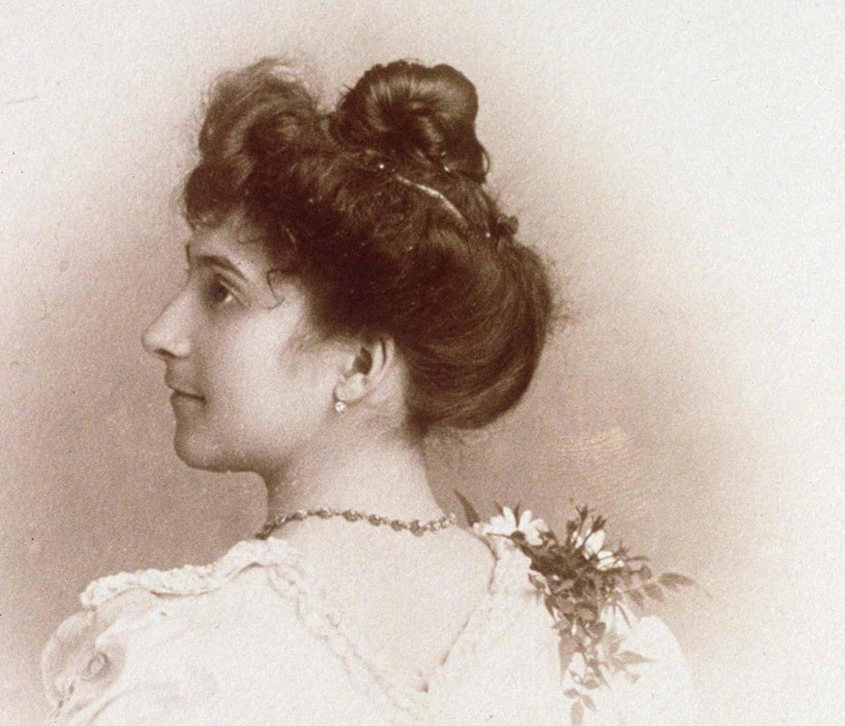 Жанна Кальман в 20 лет (1895 год). Фото © Wikipedia