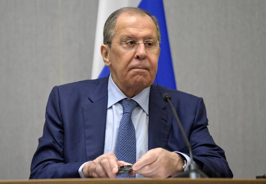 <p>Сергей Лавров. Фото © ТАСС / Сергей Гунеев</p>