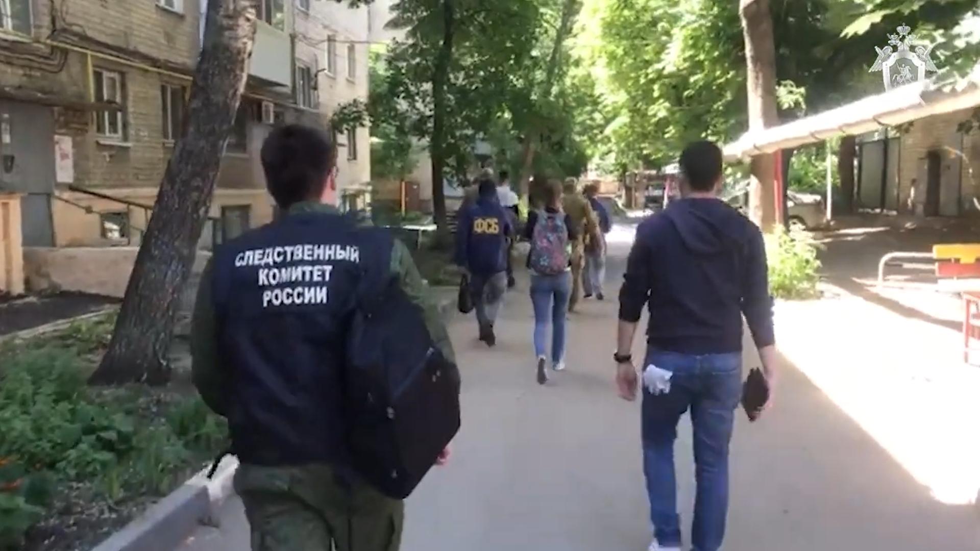 Сотрудники ФСБ задержали в Саратове 14 участников украинской радикальной группировки
