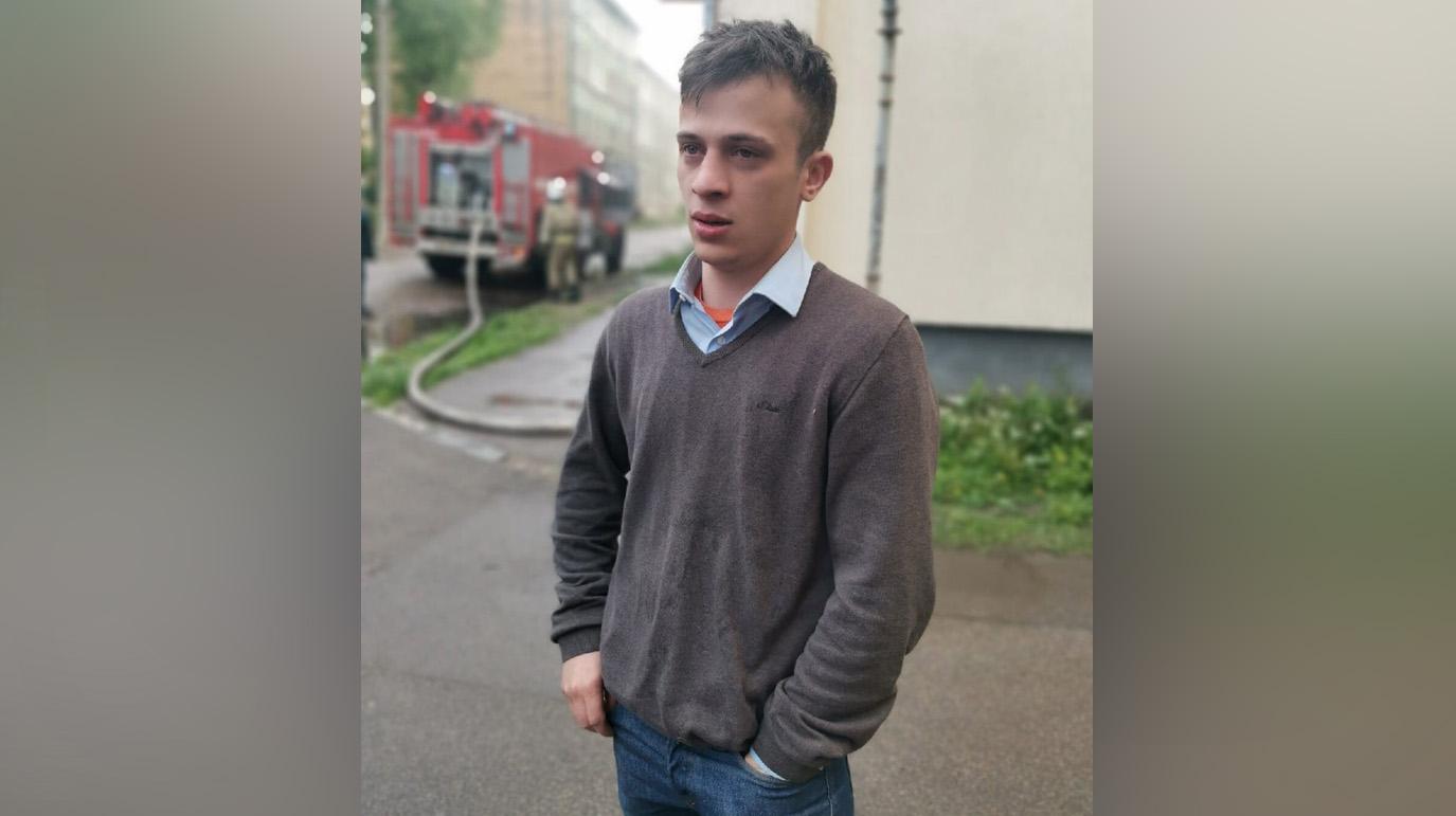 25-летний Александр Степанов. Фото © Telegram / Калининград №1