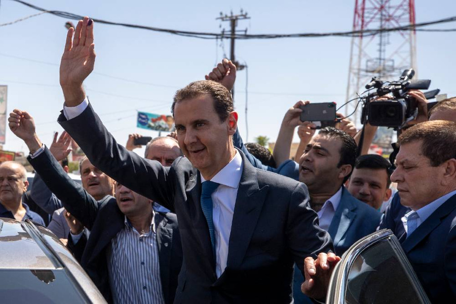 <p>Президент Сирии Башар Асад. Фото © ТАСС / АР</p>