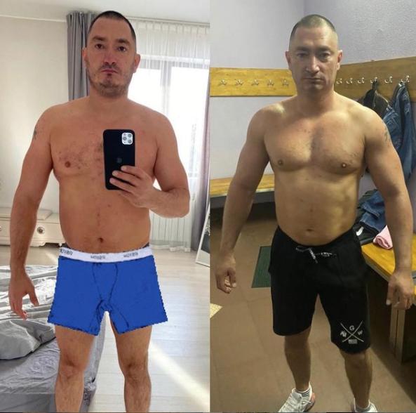 Михаил Дамешек не чужд спорту. Фото © Instagram/dameshekm
