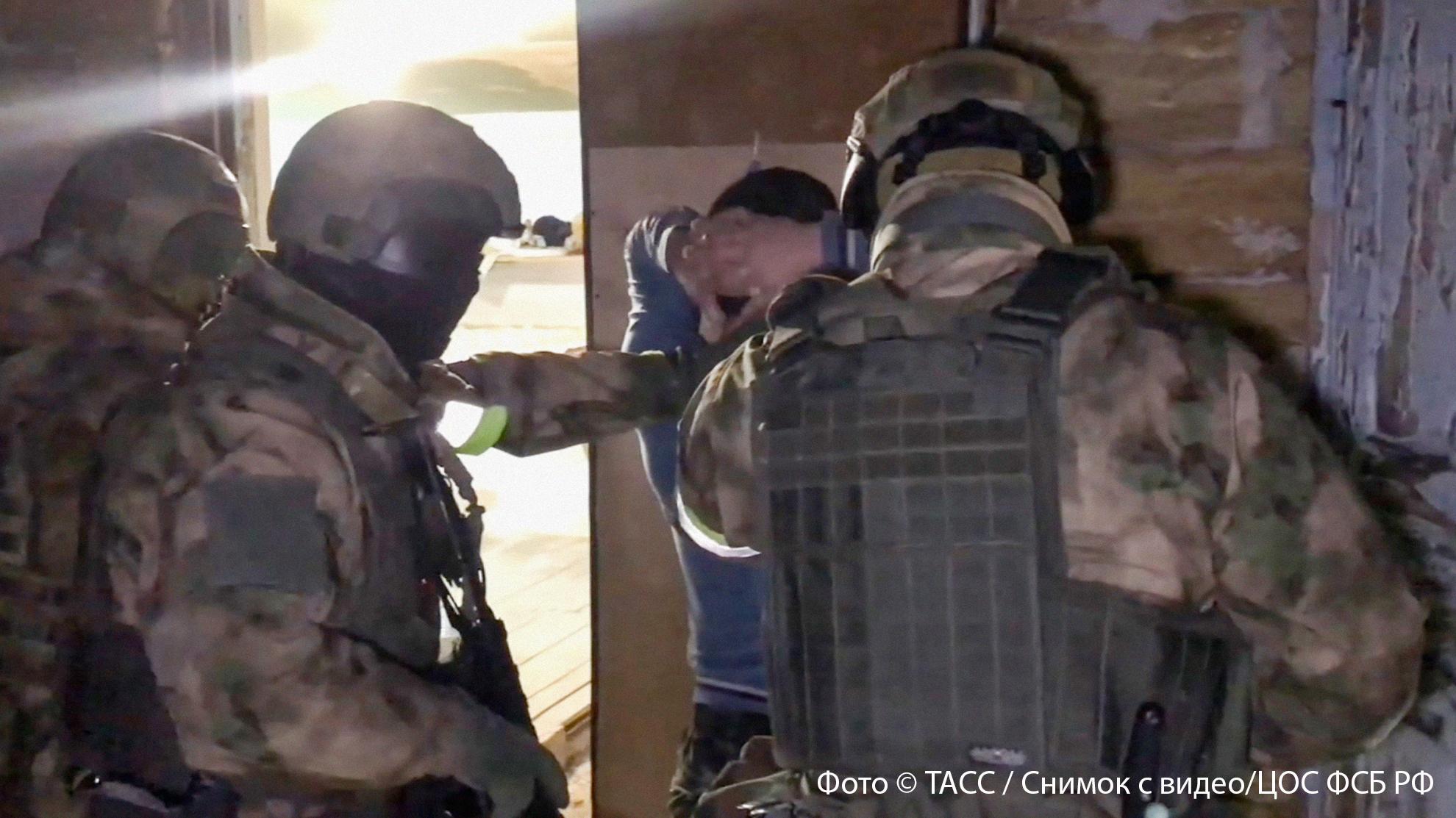 <p>Фото © ТАСС / Снимок из видео / ЦОС ФСБ РФ</p>