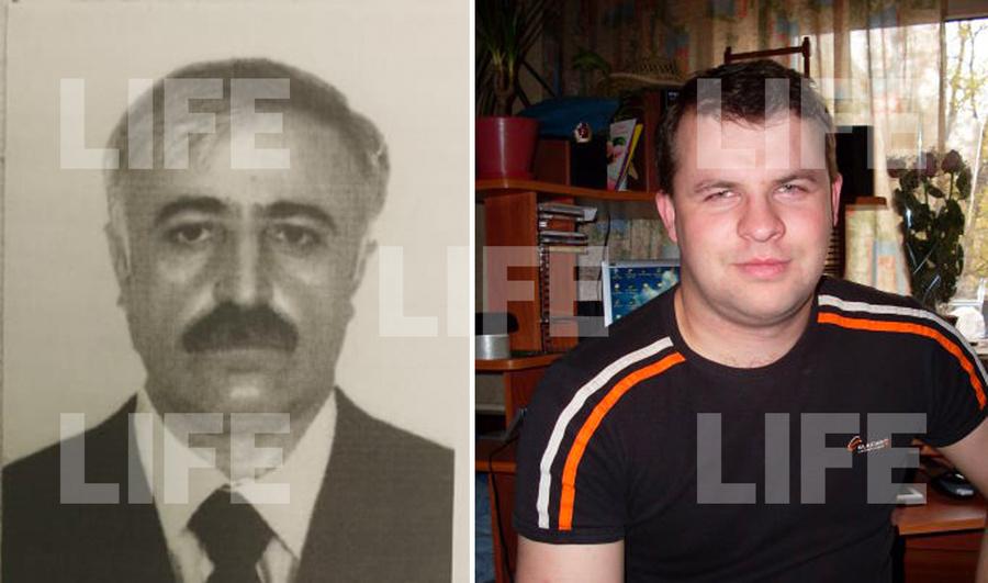 <p>Задержанный Алил, погибший Борис Яблонский (справа). Фото © LIFE</p>