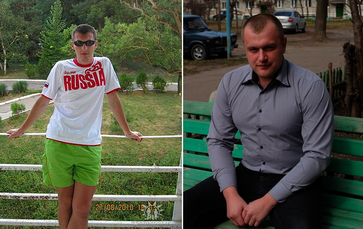 <p>Росгвардейцы Волков Виталий и Шевелёв Артём (слева направо). Фото © Соцсети</p>