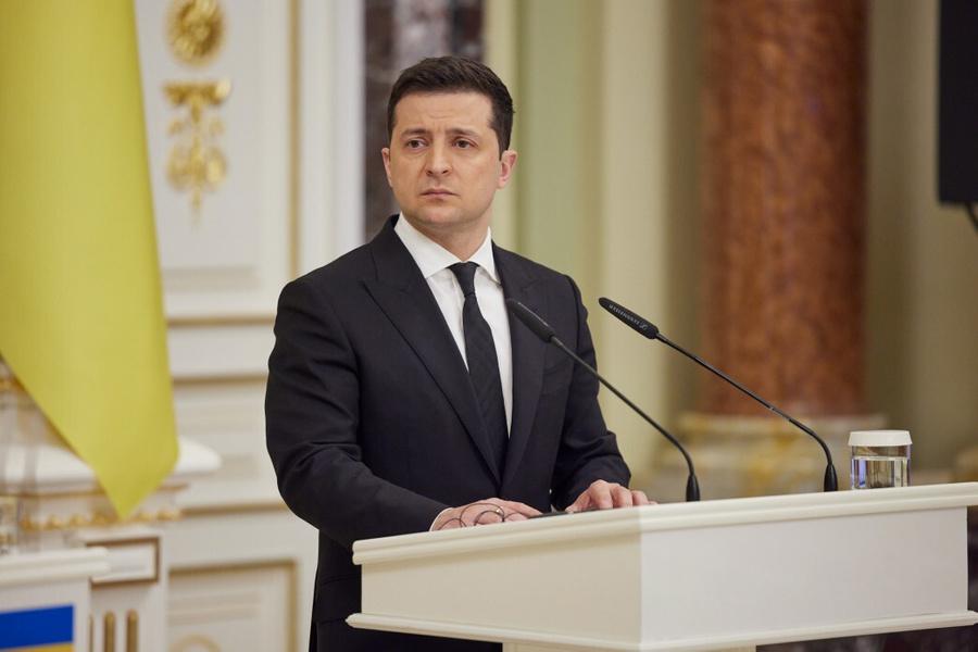<p>Фото © Ukrainian Presidency / Handout / Anadolu Agency via Getty Image</p>