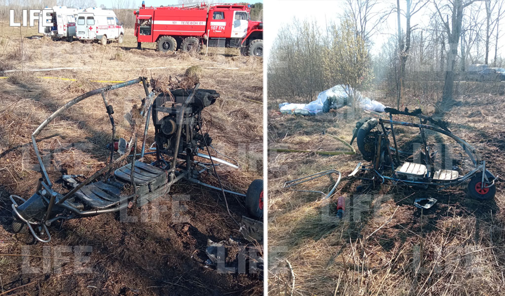 Три человека пострадали в результате жёсткой посадки мотодельтаплана под Пермью