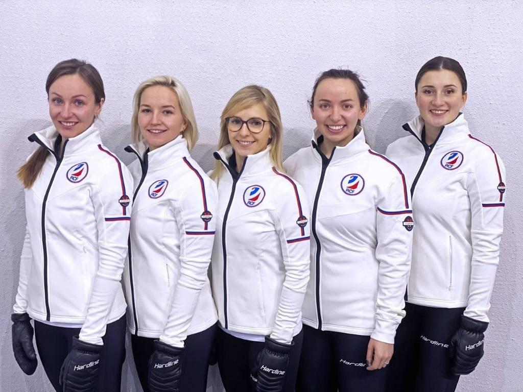 Женская сборная России по кёрлингу одержала пятую подряд победу на чемпионате мира