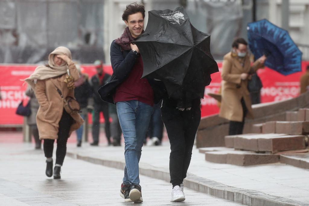 МЧС экстренно предупредило о сильном ветре в Москве и области