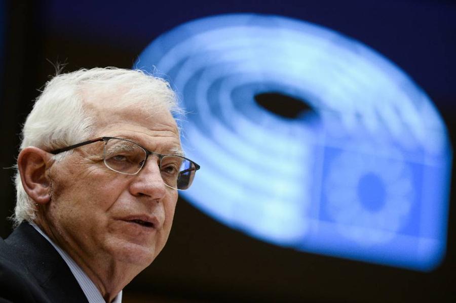 <p>Верховный представитель ЕС по иностранным делам и политике безопасности Жозеп Боррель. Фото © ТАСС/ЕРА</p>