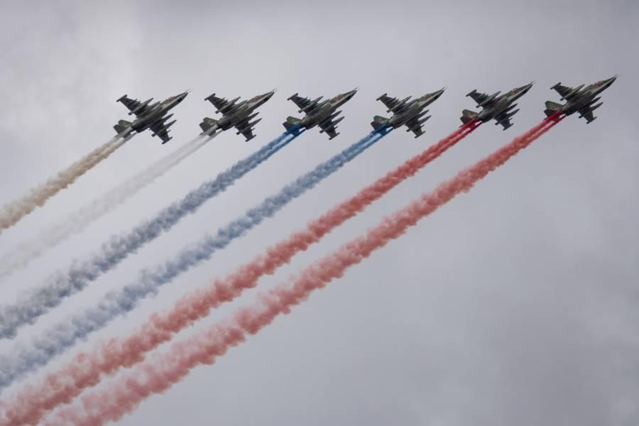 Над Москвой 5 мая состоится репетиция воздушного парада