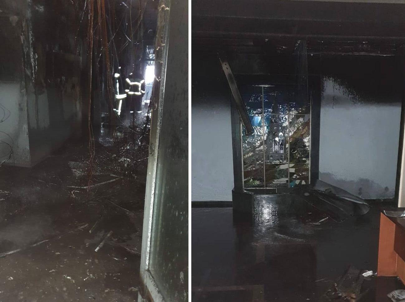 Лайф узнал предварительную причину пожара в московской гостинице