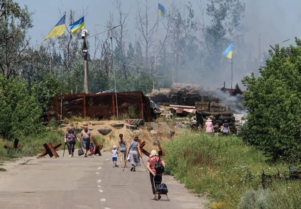 Украина выкопала 400 километров противотанковых рвов на границе с Россией