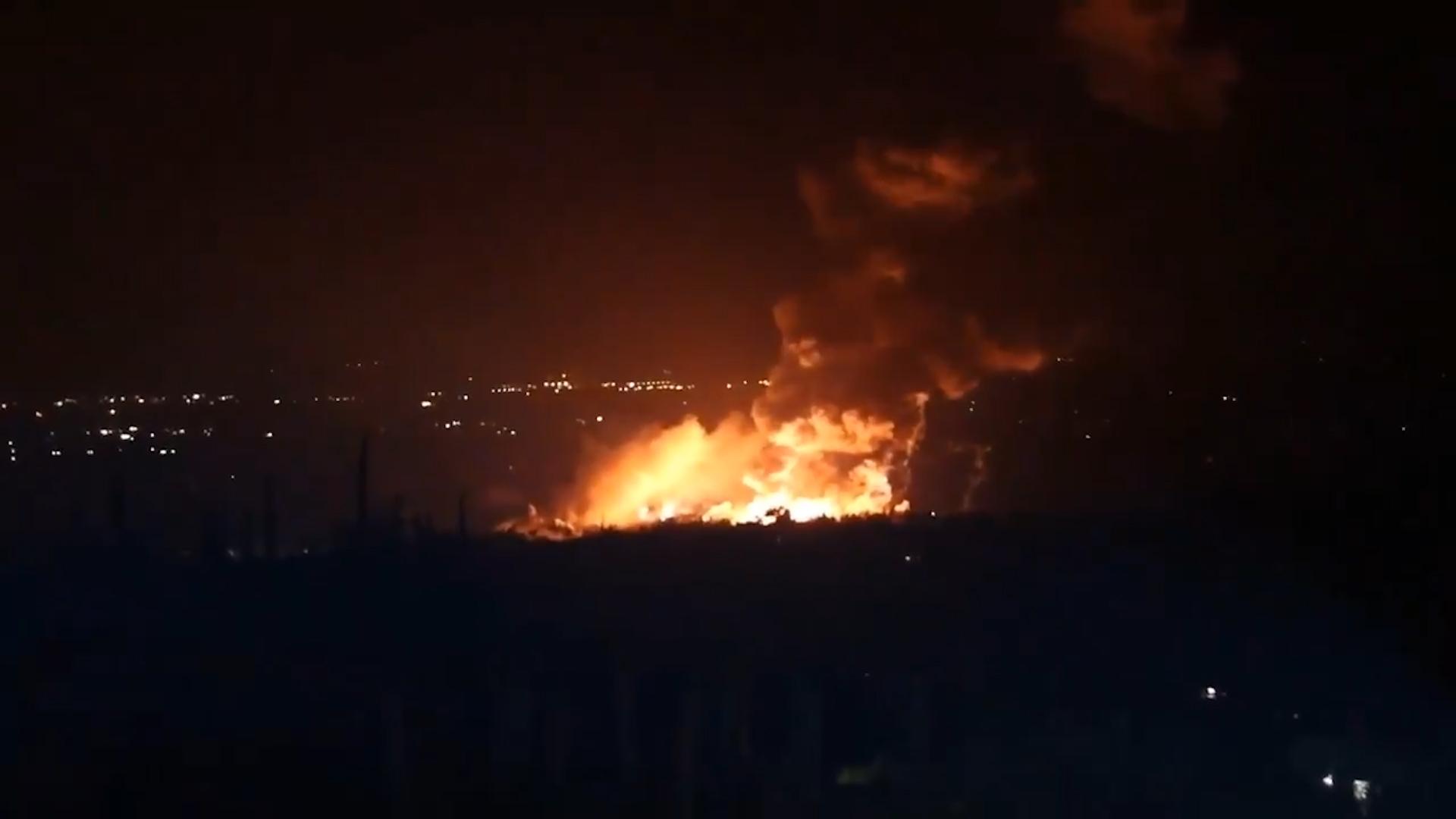 В районе сирийских Латакии и Тартуса сработали средства ПВО