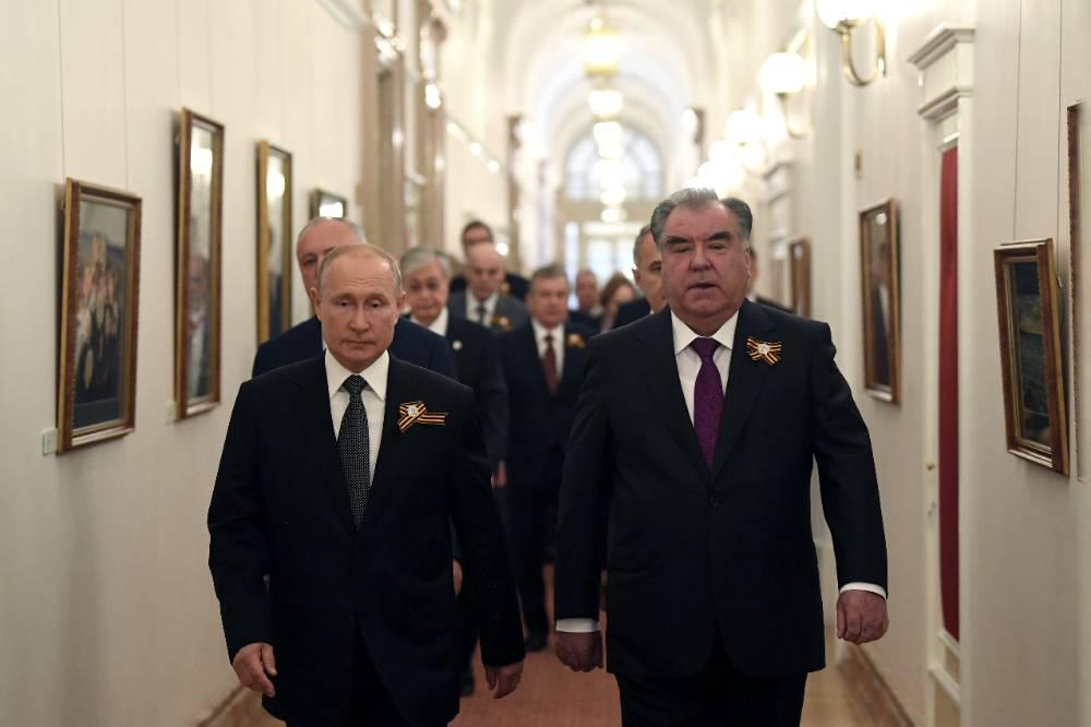 Путин проведёт переговоры с президентом Таджикистана Эмомали Рахмоном