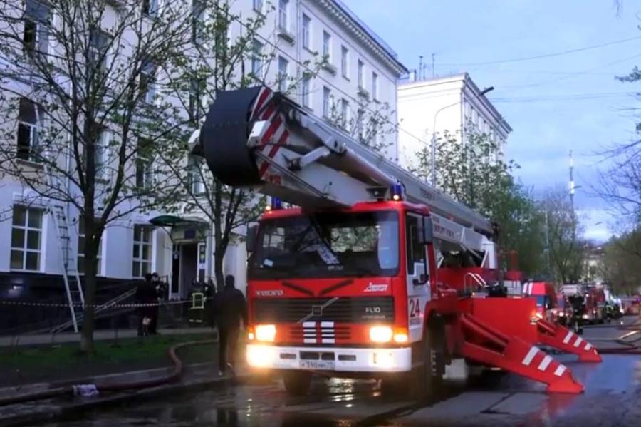 <p>Фото © ТАСС / Пресс-служба ГУ МЧС России</p>